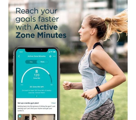 Fitbit Charge 4 Mėlyna #7