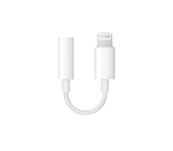 "Apple ""Lightning"" - 3,5mm adapteris Balta"