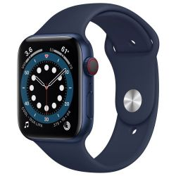 Apple Watch Series 6 LTE (aliuminis) (44 mm)