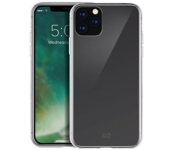 Xqisit dėklas Apple iPhone 11 Pro Max Skaidri