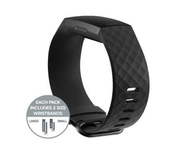 Fitbit Charge 3 Juoda #4