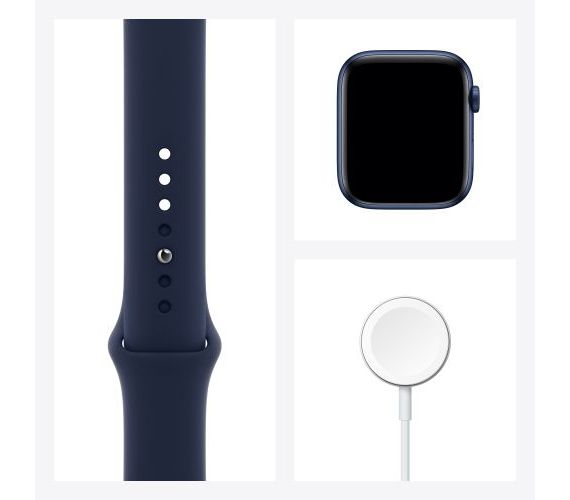 Apple Watch Series 6 GPS (aliuminis) (44 mm) Mėlyna #5