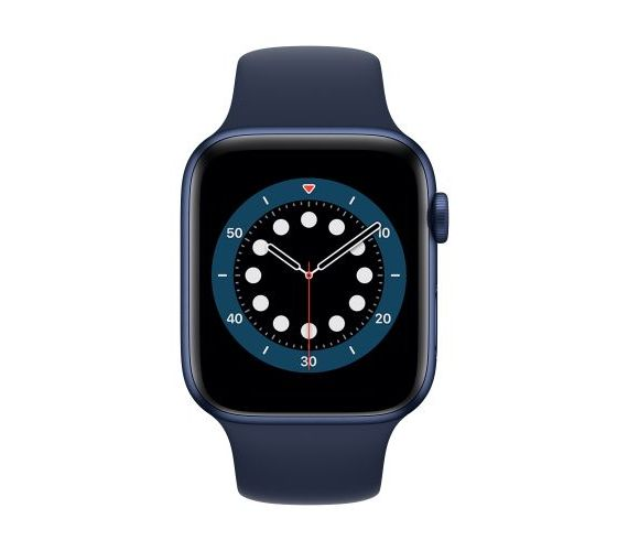 Apple Watch Series 6 GPS (aliuminis) (44 mm) Mėlyna #2